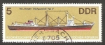 Stamps Germany -  2358 - Barco de alta mar de RDA