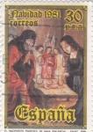 Sellos de Europa - España -  NAVIDAD-1981 (28)