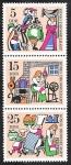 sello : Europa : Alemania : 1020-1022-1024 - Leyenda del Rey Drosselbart