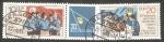 Stamps : Europe : Germany :  2264 y 2265 - XI Congreso de las juventudes libres alemanas