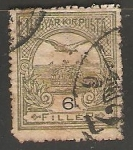 Sellos de Europa - Hungría -  Ave volando
