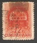 Stamps Hungary -  Corona de San Estevan