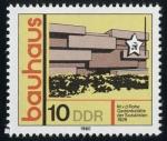 Sellos del Mundo : Europa : Alemania : ALEMANIA - El Bauhaus y sitios en Weimar y Dessau