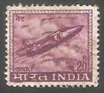 Sellos de Europa - India -  Avion de combate