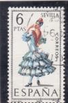 Stamps Spain -  SEVILLA -TRAJE REGIONAL (28)