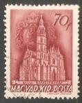 Sellos de Europa - Hungría -  Catedral de Santa Isabel