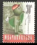 Sellos de Europa - Hungría -  Cartero