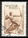 Sellos de Europa - Hungría -  Arquero