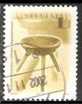 Sellos de Europa - Hungría -  silla