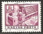 Stamps Hungary -  Clasificador de correo