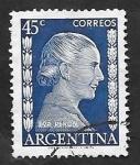 Stamps Argentina -  523 - María Eva Duarte de Perón, Evita Perón
