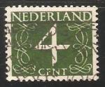 Sellos de Europa - Holanda -  Numeros