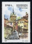 Stamps Romania -  RUMANIA: Centro histórico de Sighişoara