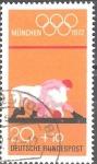 Sellos de Europa - Alemania -  Juegos Olímpicos de 1972 en Munich.