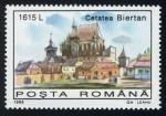 Sellos del Mundo : Europa : Rumania : RUMANIA: Poblados de Transilvania con iglesias fortificadas