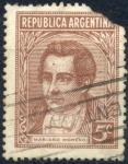 Stamps : America : Argentina :  ARGENTINA_SCOTT 427 MARIANO MORENO. $0,20
