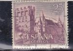 Stamps Spain -  ALCAZAR DE SEGOVIA (28)