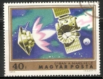 Stamps Hungary -   Spacecraft on way to Mars