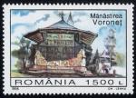 Sellos de Europa - Rumania -  RUMANIA: Iglesias de Moldavia