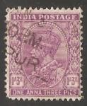 Sellos de Asia - India -  Rei Jorge V