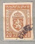 Sellos del Mundo : Europa : Bulgaria : 1944 Coat of Arms