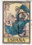 Stamps Spain -  EL EVANGELISTA S,MATEO (Rosales) (28)