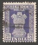 Stamps India -  Pilares de Ashoka