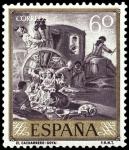Sellos de Europa - España -  ESPAÑA SEGUNDO CENTENARIO NUEVO Nº 1213 ** 60C VIOLETA GRISACEO GOYA