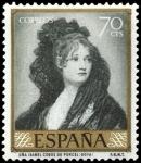 Sellos de Europa - España -  ESPAÑA SEGUNDO CENTENARIO NUEVO Nº 1214 ** 70C VERDE CLARO GOYA