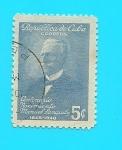 Stamps Cuba -  República de Cuba - Centenario nacimiento de Manuel Sanguily