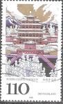 Sellos de Europa - Alemania -  Templo Puning en Chengde, Patrimonio de la Humanidad por la UNESCO.