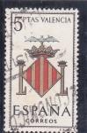 Stamps Spain -  ESCUDO DE VALENCIA (28)