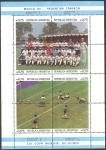 Stamps : America : Argentina :  33 H.B. - Argentina, Campeón del mundo de fútbol, Mexico 86