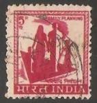 Sellos de Asia - India -  Planificacion de familia