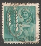 Sellos del Mundo : Asia : India : Agricultor