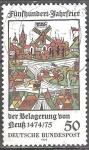 Sellos de Europa - Alemania -  Quinientos años de aniversario del asedio de Neuss 1474-1475.