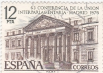 Stamps Spain -  63 CONFERENCIA DE LA UNION INTERPARLAMENTARIA(28)