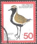 Sellos de Europa - Alemania -  Protege las aves(Chorlito dorado,apricaria Pluvialis).