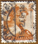 Stamps Italy -  MIGUEL ANGEL, su obra.