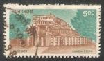 Sellos de Asia - India -  Sanchi Stupa