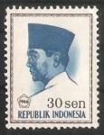 de Asia - Indonesia -  President Sukarno