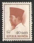Sellos del Mundo : Asia : Indonesia : President Sukarno