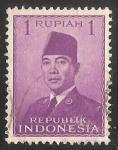 Stamps Indonesia -  Jefe de estado