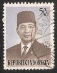 Sellos de Asia - Indonesia -  President Suharto