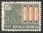 Sellos de Asia - Indonesia -  5 años del plan de desenvolvimiento