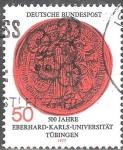 Sellos de Europa - Alemania -  450 años Philipps-Universidad de Marburg.