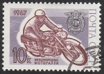 Sellos de Europa - Rusia -  3264 - Motociclismo