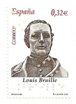 Stamps Spain -  Louis Braille