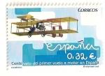 Sellos de Europa - España -  Centenario primer vuelo motor