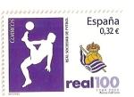 Sellos de Europa - España -  Centenario del Club de futbol Real Sociedad.